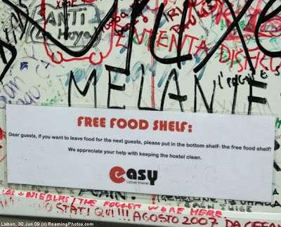 free food hostels